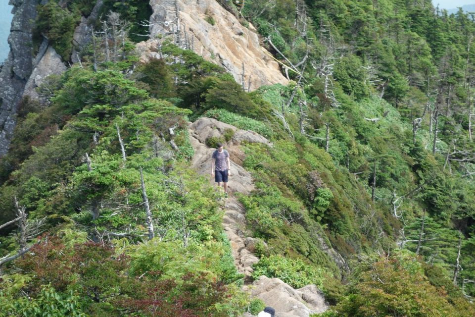 Bergkamm des Ishizuchi mit Andre
