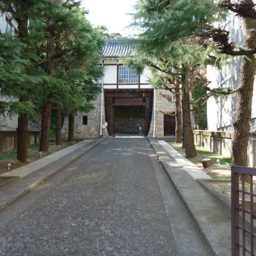 Vermeintlicher Eingang zum Matsuyama Castle