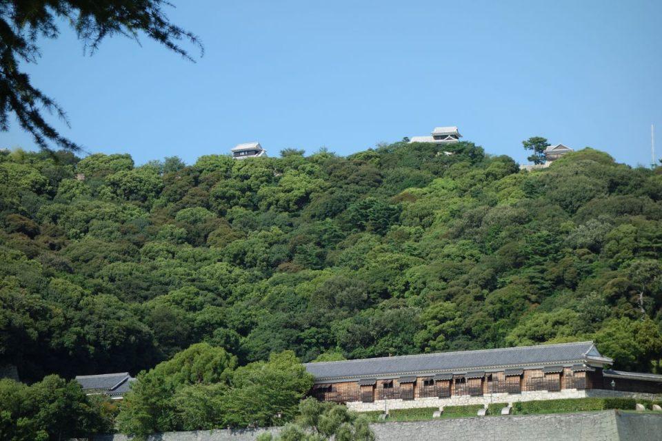 Ausblick zum Matsuyama CastleAusblick zum Matsuyama Castle