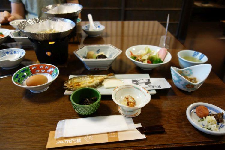 Frühstück im Hotel Kazurabashi #1