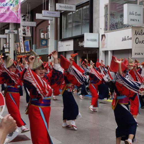 Yosakai Tanzgruppe in der Parade #6