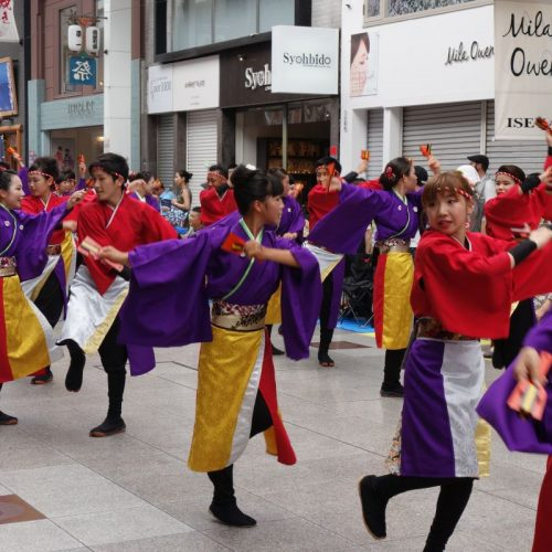 Yosakai Tanzgruppe in der Parade #8