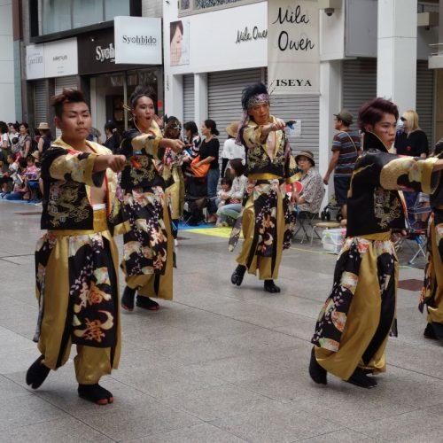 Yosakai Tanzgruppe in der Parade #10