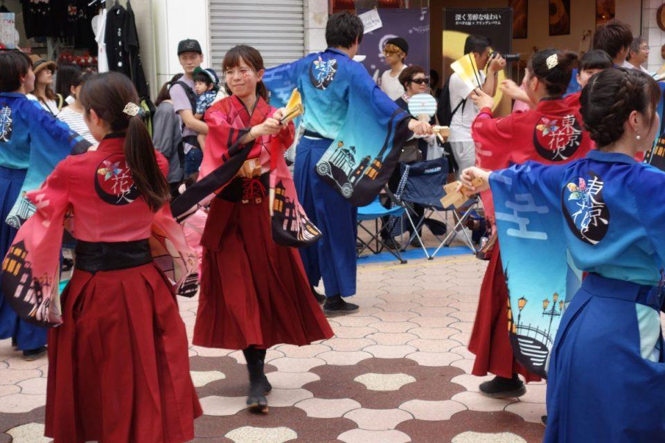 Yosakai Tanzgruppe in der Parade #12