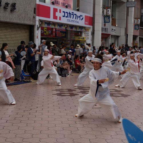 Yosakai Tanzgruppe in der Parade #13