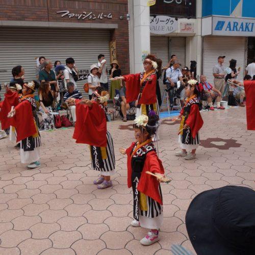 Yosakai Tanzgruppe in der Parade #14