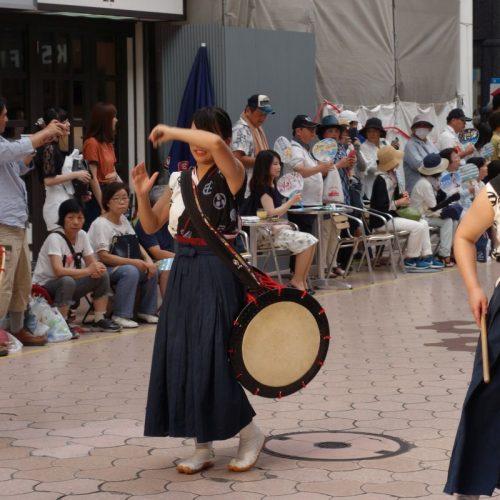 Yosakai Tanzgruppe in der Parade #15