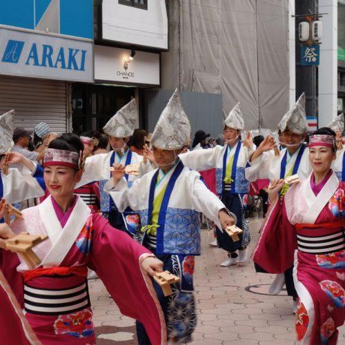 Yosakai Tanzgruppe in der Parade #16