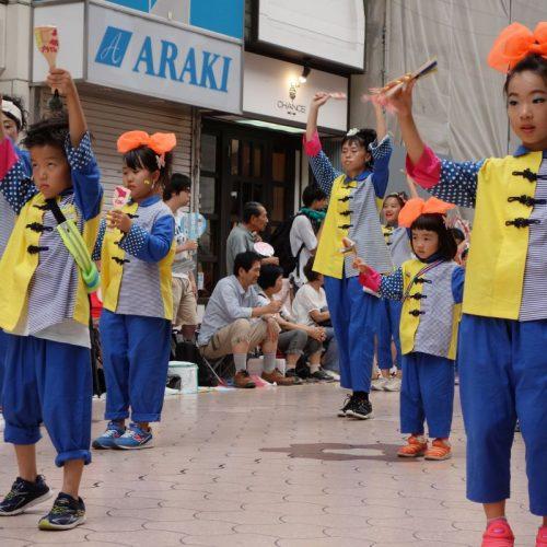 Yosakai Tanzgruppe in der Parade #18