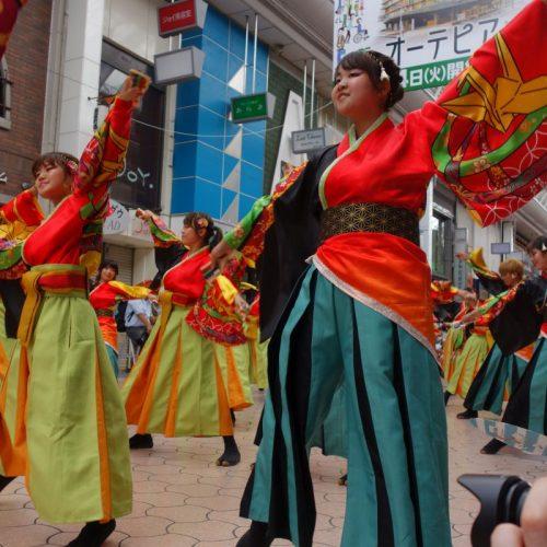 Yosakai Tanzgruppe in der Parade #19
