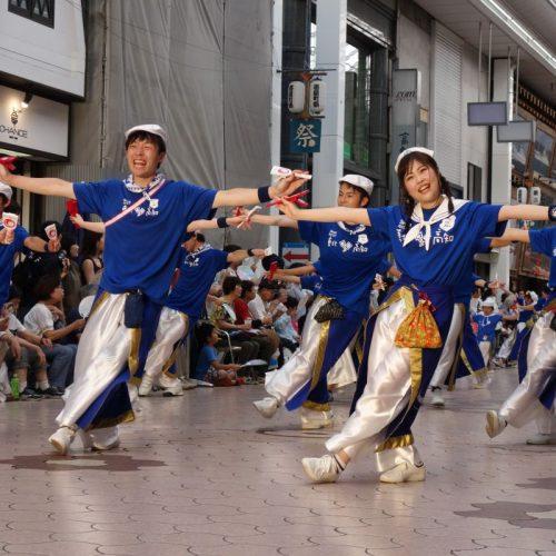 Yosakai Tanzgruppe in der Parade #23