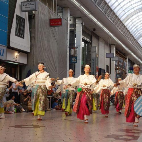 Yosakai Tanzgruppe in der Parade #24