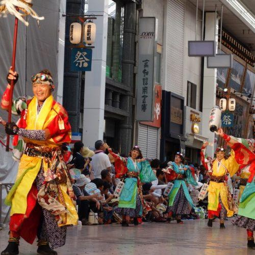 Yosakai Tanzgruppe in der Parade #25