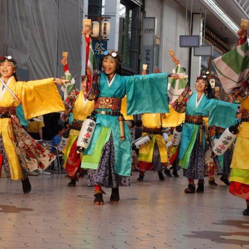 Yosakai Tanzgruppe in der Parade #26