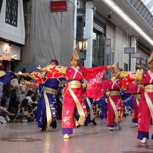 Yosakai Tanzgruppe in der Parade #27