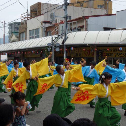 Yosakai Tanzgruppe in der Parade #30