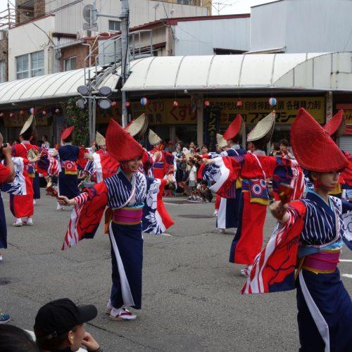 Yosakai Tanzgruppe in der Parade #31