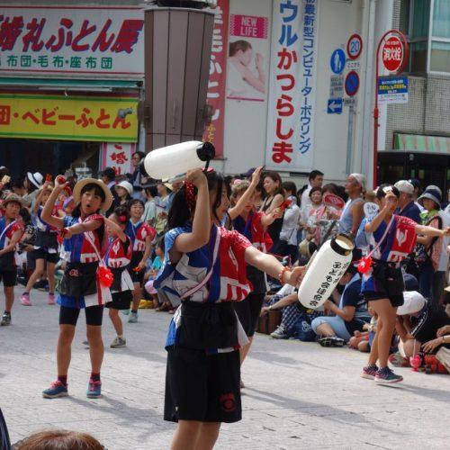 Yosakai Tanzgruppe in der Parade #35