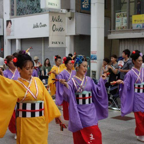 Yosakai Tanzgruppe in der Parade #34