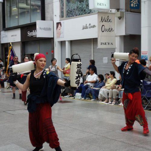Yosakai Tanzgruppe in der Parade #36