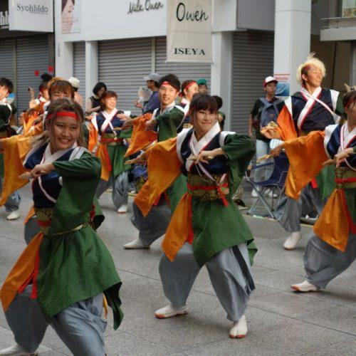 Yosakai Tanzgruppe in der Parade #41