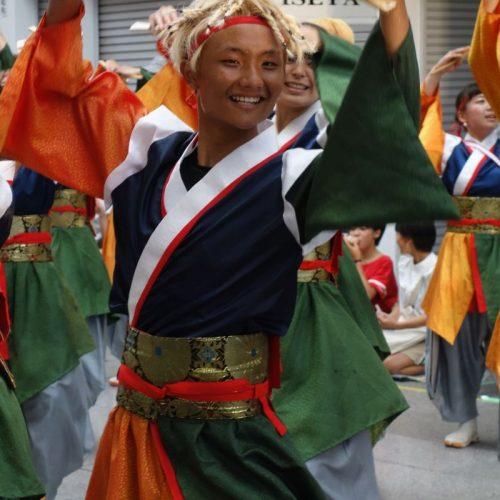 Yosakai Tanzgruppe in der Parade #42