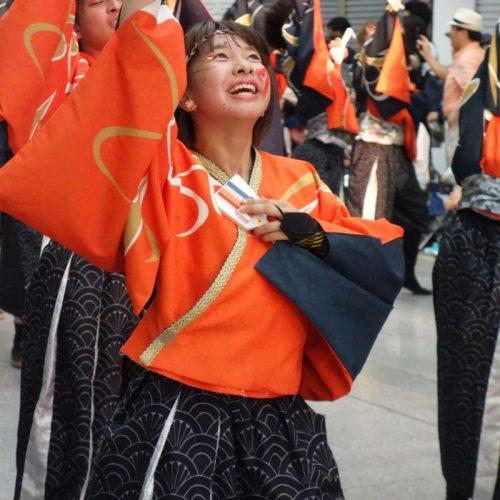 Yosakai Tanzgruppe in der Parade #43