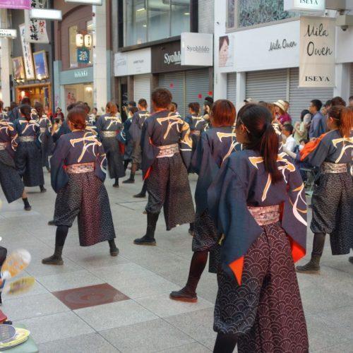 Yosakai Tanzgruppe in der Parade #44