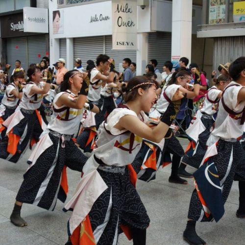 Yosakai Tanzgruppe in der Parade #45