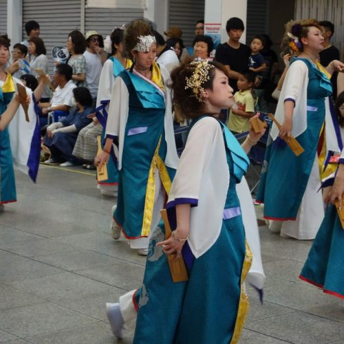 Yosakai Tanzgruppe in der Parade #48
