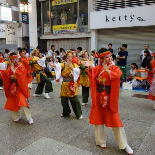 Yosakai Tanzgruppe in der Parade #49