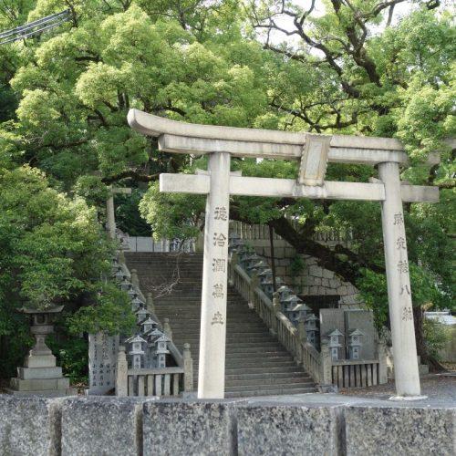 Tempelbesichtung in Utazu #1