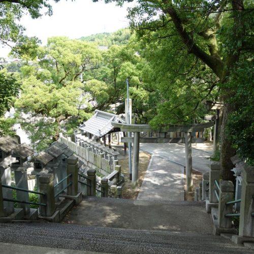 Tempelbesichtung in Utazu #5