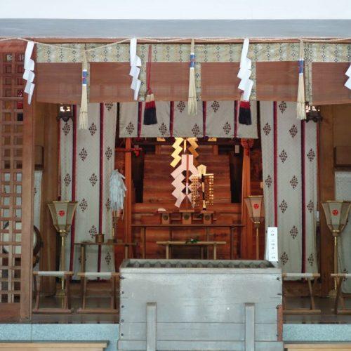 Tempelbesichtung in Utazu #7