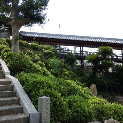 Tempelbesichtung in Utazu #11