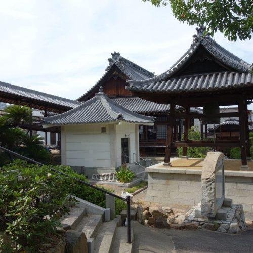 Tempelbesichtung in Utazu #12