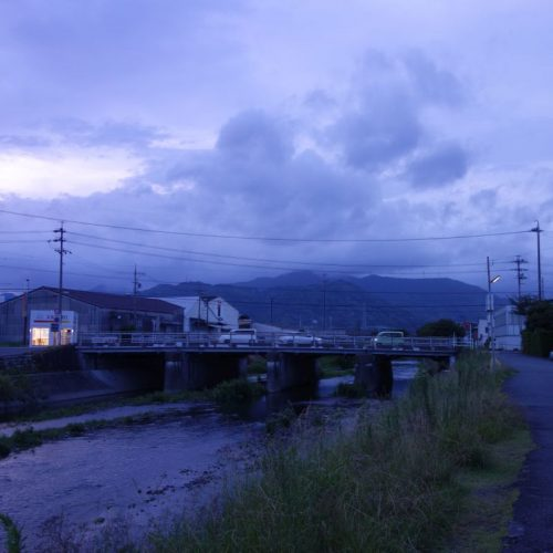 Shimizu in der Dämmerung