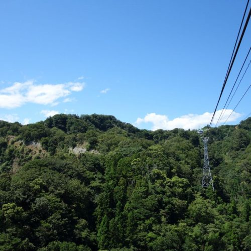 Ausblick von der Nihondaira Seilbahn #2