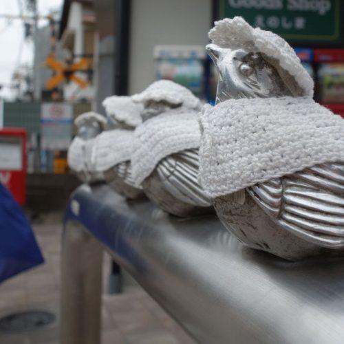 Kleine Vögelchen mit Anziehsachen #2