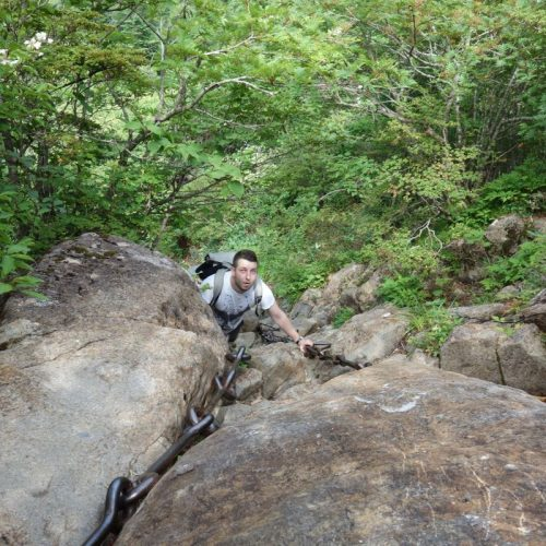 Kletterspaß mit Patrick