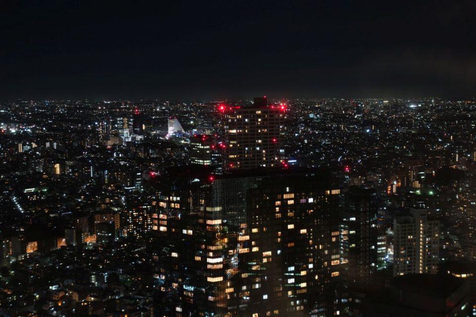 Ausblick auf Tokyo bei Nacht #2