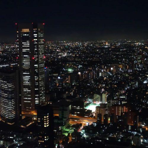 Ausblick auf Tokyo bei Nacht #3