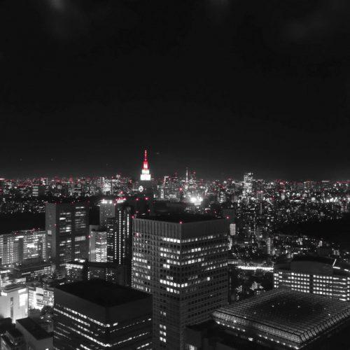 Ausblick auf Tokyo bei Nacht #4