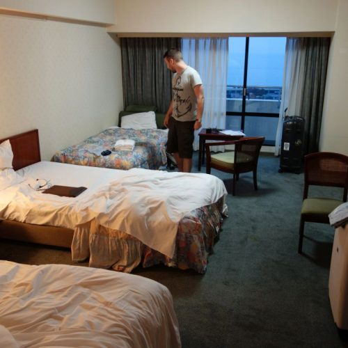 Hotelzimmer des Royal Hotel Tosa