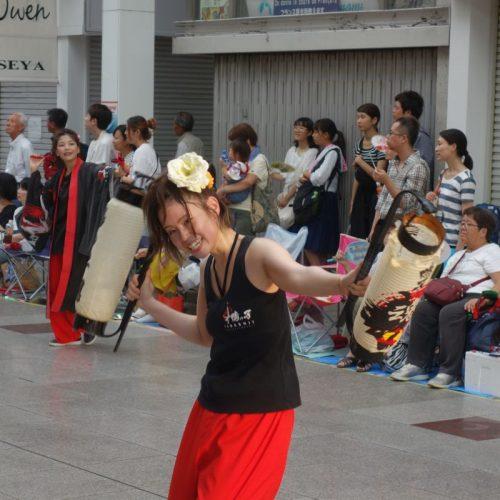 Yosakai Tanzgruppe in der Parade #50