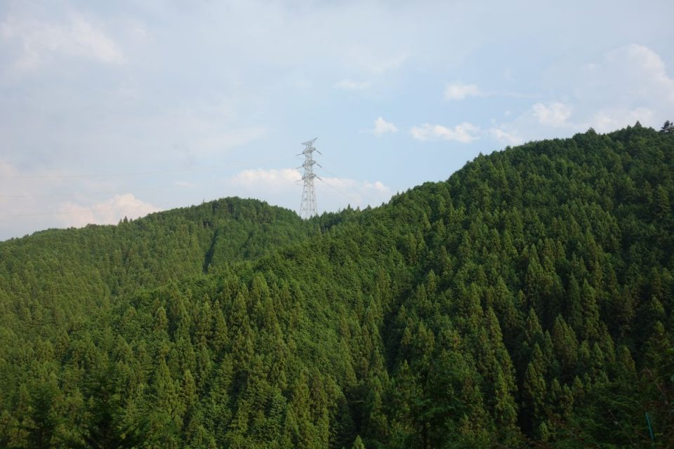 Ausblick auf dem Weg nach Ikusabata