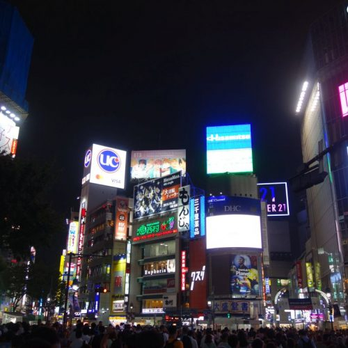 Shibuya bei Nacht #3