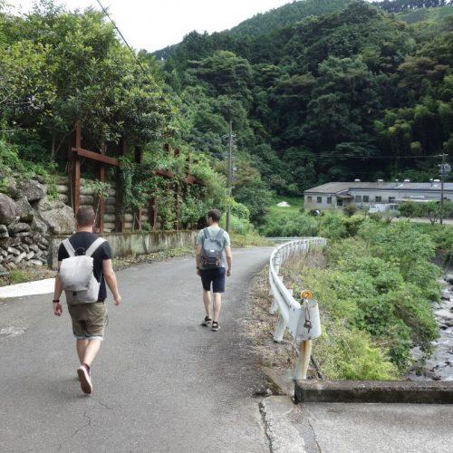 Spaziergang nach Sukosawa